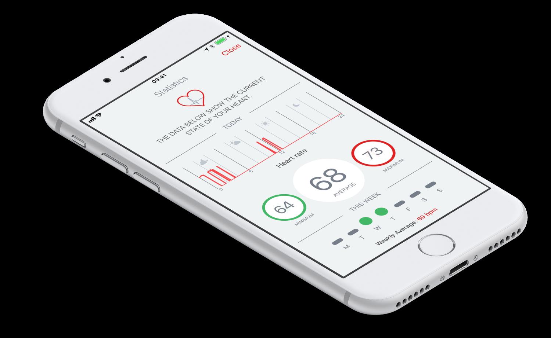 Mobile application | Emglare Heart